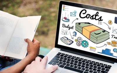 What are the costs involved in an author website?